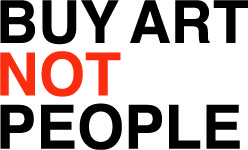 Buy Art Not People Logo